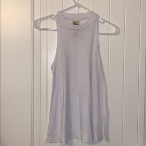 free people ribbed high neck tank XS